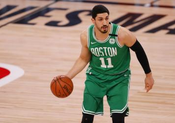 Enes Kanter of the Boston Celtics has not shied from political activism.