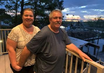 Tammy and Benny Alexie have been married for over 35 years. Until Hurricane Ida, they had lived in the same house in Barataria, La.