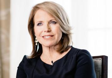 Katie Couric, shown here in 2016, reflects on the successes and setbacks she's experienced as a journalist in her new memoir, <em>Going There</em>.