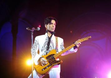 Prince performs in Paris at the Grand Palais on Oct. 11, 2009.