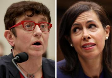 President Biden has nominated Gigi Sohn (left) as an FCC commissioner and Jessica Rosenworcel as chair of the commission.