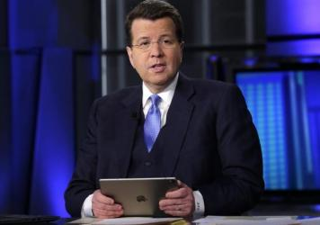 Fox News anchor Neil Cavuto, pictured here in 2017, urged viewers to get vaccinated after announcing his own breakthrough COVID-19 diagnosis.