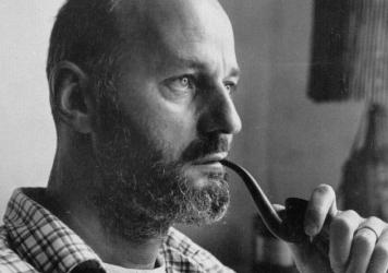 Poet and author Lawrence Ferlinghetti, pictured above in 1960, was born on March 24, 1919.