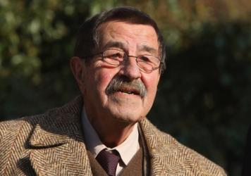 German writer Günter Grass arrives at Günter Grass-Haus, a museum in Luebeck, Germany, for his 80th birthday celebration on Oct. 27, 2007.
