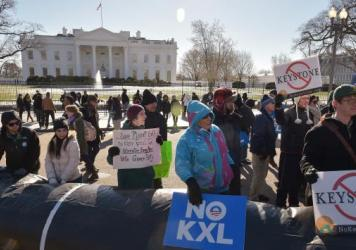 President Obama has said he will veto the Keystone XL pipeline project, which passed in the Senate on Wednesday. Historically, political scientists say, 90 percent of veto threats are issued behind the scenes, but Obama has issued nine veto threats so fa