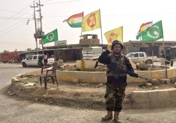 Before ISIS attacked it, the northern Iraqi town of Snuny had a population of nearly 150,000 — a mix of Kurdish Muslims and Yazidis, who belong to a religious ethnic minority in this region. Only about 10,000 have returned after Kurdish fighters reclaimed the city.