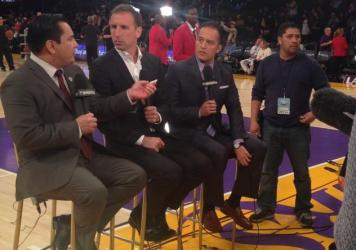 After landing a job with the San Diego Flash, Adrián García Márquez was at ESPN within just a few years. Now, he's the Spanish-language play-by-play announcer for the L.A. Lakers.