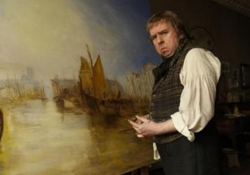 Timothy Spall as the British painter J.M.W. Turner in Mike Leigh's <em>Mr. Turner</em>, whose score is nominated for an Oscar.