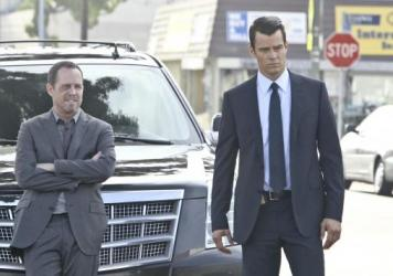 Dean Winters, left, and Josh Duhamel are not your father's mismatched buddy cops, on the new CBS show <em>Battle Creek</em>.