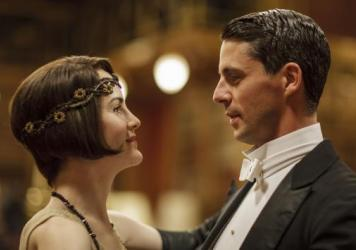 Lady Mary (Michelle Dockery) made the acquaintance of Henry Talbot (Matthew Goode) on the season finale of <em>Downton Abbey</em>.