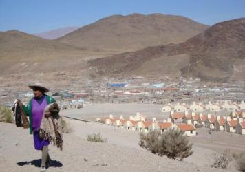 At more than 12,000 feet above sea level, the town of San Antonio de los Cobres, Argentina, sits on volcanic bedrock, which leaches arsenic into the drinking water.