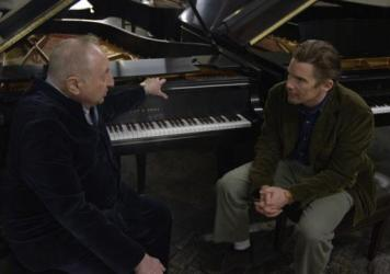 Pianist Seymour Bernstein in conversation with actor and filmmaker Ethan Hawke.