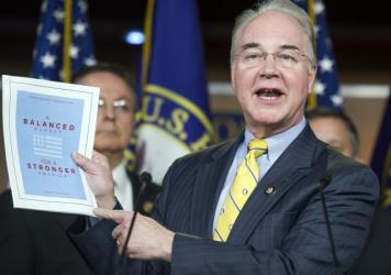 "Republican Rep. Tom Price, House Budget Committee chair, said Tuesday that his budget ""saves $5.5 trillion, gets to balance within ten years, without raising taxes."""