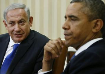 President Obama with Israeli Prime Minister Benjamin Netanyahu at the White House in 2013. The two have never had a warm and fuzzy relationship.