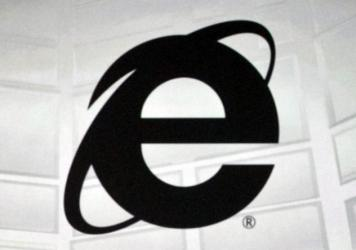 The logo of Microsoft's Internet Explorer, the web browser due to be phased out in the next version of Windows. (AP Photo/Damian Dovarganes)