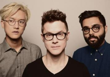 Son Lux (left to right): Ian Chang, Ryan Lott, Rafiq Bhatia