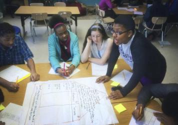 As a multi-classroom teacher, Whitney Bradley juggles instruction and helping the teachers on her team. Ultimately, her evaluation depends on the performance of her students and those of her team members.