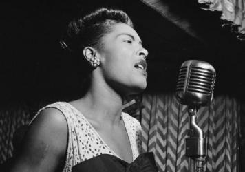 Billie Holiday became a mythic presence in absentia.