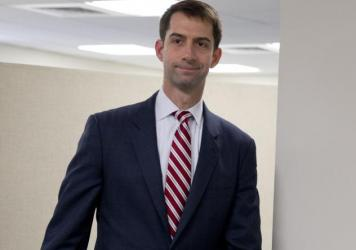 "Sen. Cotton, who orchestrated a letter to Iran's leaders disapproving of any potential deal with Iran, called the president's underlying assumptions in making a deal ""wishful thinking."""