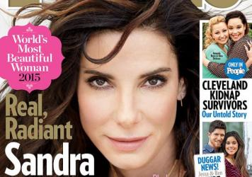Sandra Bullock is at the top of <em>People</em> magazine's World's Most Beautiful list for 2015.