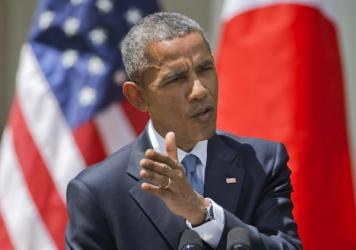 """President Obama is condemning the unrest in Baltimore, saying a handful of """"criminals"""" are taking advantage of the situation following the April 19 death of Freddie Gray."""