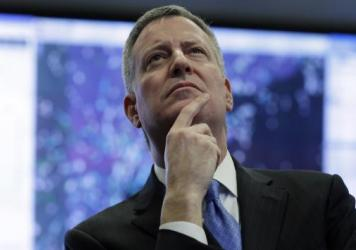 "New York City Mayor Bill de Blasio is set to step onto the national stage with his progressive ""Contract With America."""