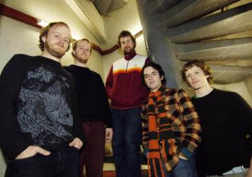 Clap Your Hands Say Yeah in an early 2006 publicity photo.
