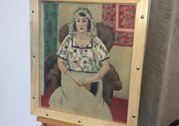 Henri Matisse's <em>Seated Woman </em>was found in an apartment in Munich.