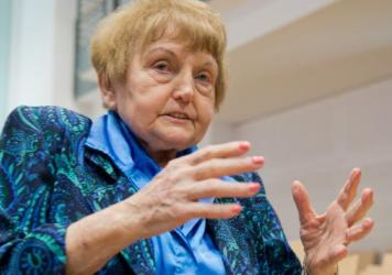 Holocaust survivor Eva Kor meets former Auschwitz guard Oskar Groening, whom she says she forgives for his crimes.