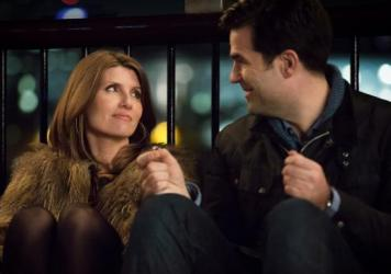Sharon Horgan and Rob Delaney co-star in the new Amazon romantic comedy, <em>Catastrophe</em>.
