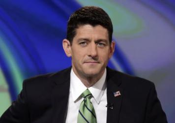Rep. Paul Ryan (R-Wis.) is interviewed for TV in September 2014.