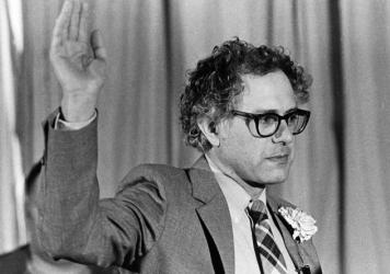 In 1981, Bernie Sanders won a 10-vote victory over a Democratic incumbent to become mayor of Burlington, Vt.