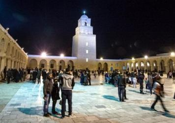In Kairouan, Tunisia, Muslims visit the Great Mosque, one of the oldest and best-known mosques in North Africa. Tunisia has made more political progress than other Arab Spring countries, but it has suffered two major terror attacks in recent months.