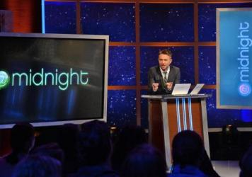 Chris Hardwick is the host of Comedy Central's popular series <em>@midnight</em>.