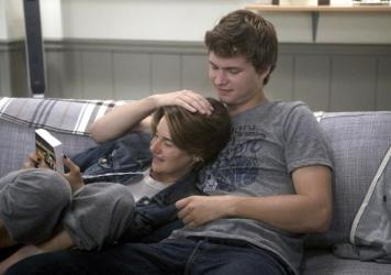 In the movie <em>The Fault in Our Stars</em>, having terminal cancer doesn't look so bad for Hazel, played by Shailene Woodley, and Gus, played by Ansel Elgort.