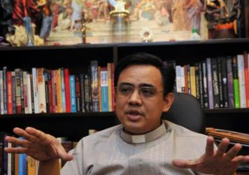 Father Jose Francisco Syquia heads the Office of Exorcism in the Philippines.