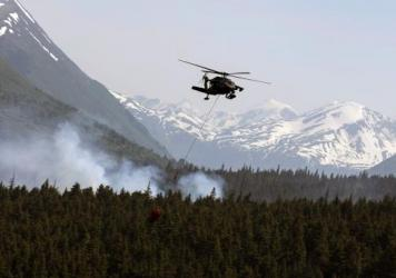 Images taken by NASA satellites last month revealed the extent of wildfires in Alaska's interior. Beyond such wildfires' immediate threats, some scientists are also concerned that they could lead to melting permafrost — and hasten the pace of global cl