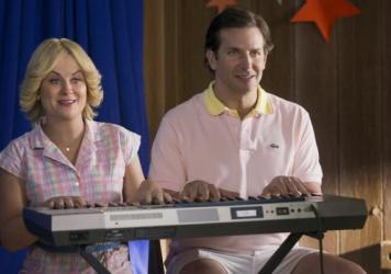 Amy Poehler and Bradley Cooper in <em>Wet Hot American Summer: First Day Of Camp</em>.