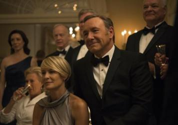<em>House of Cards</em>, starring Kevin Spacey and<strong> </strong>Robin Wright, is one of the many (many) shows now available on your TV — and in other places, too.
