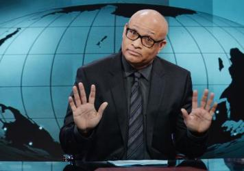 Larry Wilmore is the host of <em>The Nightly Show,</em> a satirical news show that airs on Comedy Central.