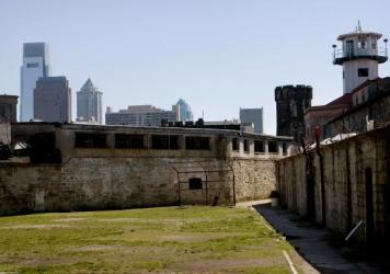 A part of Eastern State Penitentiary in Philadelphia is shown in 2008. The penitentiary opened in 1829, closed in 1971, and then historic preservationists reopened it to the public for tours in 1994.