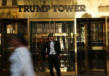 Donald Trump owns this Trump Tower building at 725 Fifth Ave. in New York City. It's one of only a handful he owns in the city, though 17 buildings there bear his name.
