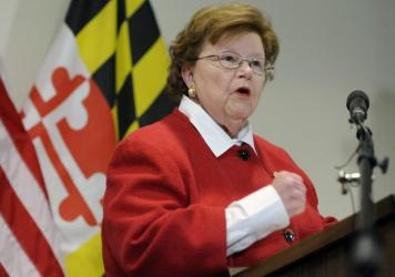 Barbara Mikulski becomes 34th Senator to endorse the White House-backed Iran nuclear agreement.