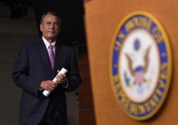 Pressure is building within House Speaker John Boehner's conference to oust him. Boehner is likely to hold off a challenge — for now. But he could decide to call it quits at the end of this term.
