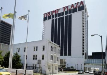 """She was not the kind of person to go away quietly,"" said an attorney at the non-profit that represented Vera Coking. Here's she's seen walking past Donald Trump, partially in an Atlantic City, N.J. court."
