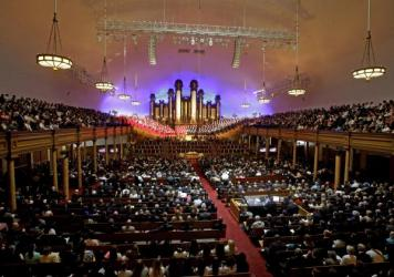 A public funeral is held for Mormon leader L. Tom Perry on June 5 at the Salt Lake Tabernacle in Salt Lake City, Utah. Perry was a member of The Church of Jesus Christ of Latter-day Saints' highest governing body, the Quorum of the Twelve Apostles. He died at the age of 92 from cancer. The recent deaths of several high-ranking church leaders are expected to prompt new appointments.
