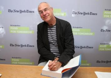 "Mark Bittman, seen here on a 2014 book tour, is leaving his writing job at <em>The New York Times</em>, but not his advocacy for good food. ""I have more to say, and I imagine I'll find a way to say it,"" he says, laughing."