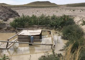 Bentonite must be poured into abandoned coal-bed methane wells to seal off gas-producing formations. But that's only the first step of many.