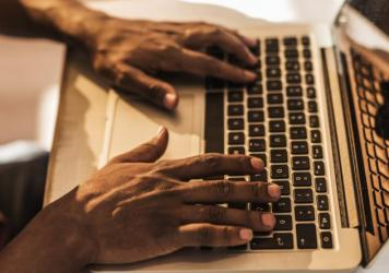 African-American patients with chronic kidney disease were half as likely to use an electronic health portal than were non-black patients.