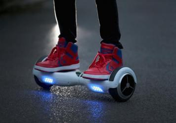 Is a hoverboard-like scooter your transportation mode of choice?